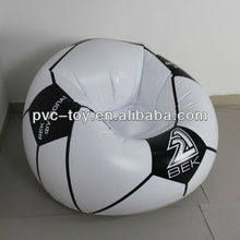 football inflatable sofa/ air chair
