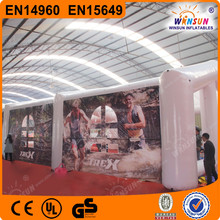 outdoor inflatable sport tent , sports rest station inflatables, air blown up building