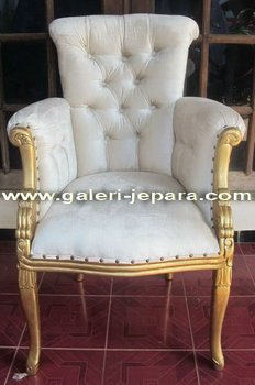 Single Chair Upholstery - Living Room Furniture - Hotel Decor