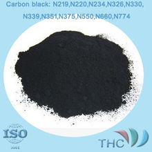 tire processing raw material carbon black N330 from shanghai THC
