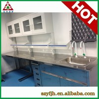 hot sell easy clean wood or steel attractive appearance school workbench furniture store