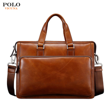 Wholesale men's vintage waterproof briefcase rolling laptop handbag brands briefcase