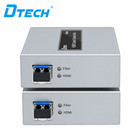 OEM/ODM Dtech long signal extend 4K HDMI KVM fiber optic with IR extender 20KM