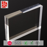 2-20mm thick cast acrylic large clear plastic sheets