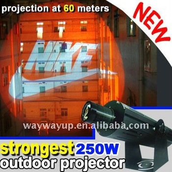 15000 lumens gobo projector