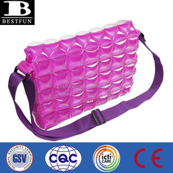 inflatable bubble beach bags promotional plastic transparent beach bag air inflate bag