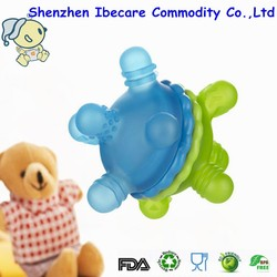 New design baby toy silicone teether