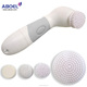 Back Massage Portable Sonic Facial Brush Cleanser Electric in Bath