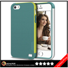 Keno Slim Case Bumper Shockproof Anti-Scratch Shell Soft Premium Dual Color TPU Cover for iPhone 5S