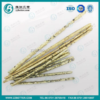 BBC type composite rods made of big size particle size