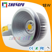 18W ar111 lights led art gallery led spotlight bulb