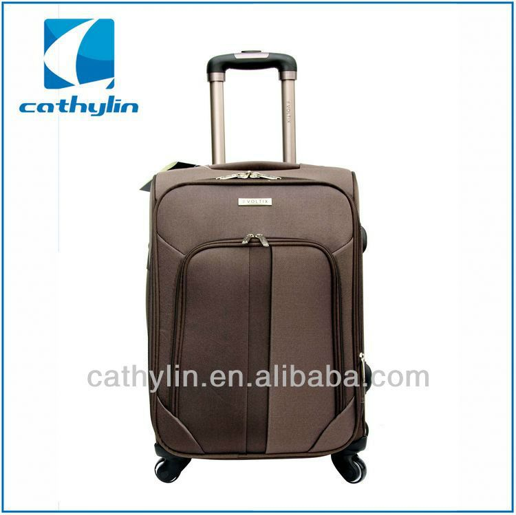 Popular design cheap nylon luggage expensive luggage