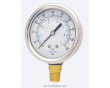 "2.5"" No lead Glycerin or Silicone Filled Pressure Gauge"