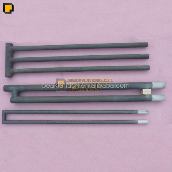 Durable U shape Silicon Carbide / SiC heating elements