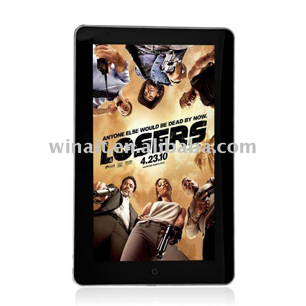 10.2 inch Tablet pc with Android 2.2,4GB HARD DISK.512 ROM