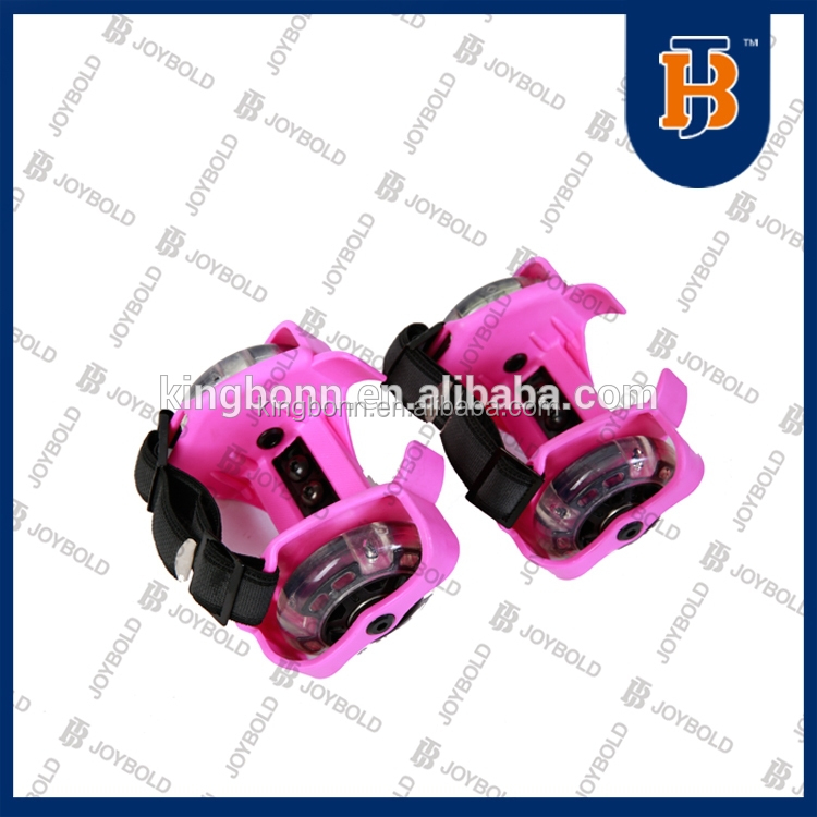skate boot covers,Quad flashing Roller Skates Wholesale, high quality Size Adjustable Roller Skates Attach to Shoes