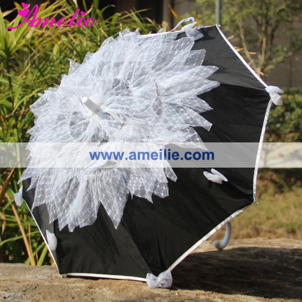 New Party Decoration Kids' Umbrella with Lace