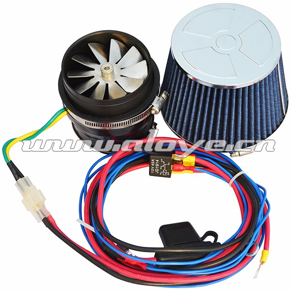 Universal Electric Turbo Review: Fa001 Turbo Electric Supercharger Auto Air Filter