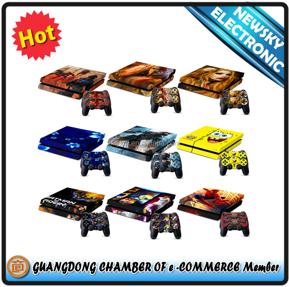 console sticker for ps4 skin sticker wholesale price