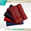 Asa And Pvc composite bling bling Plastic Resin clay roof tiles