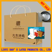 HAN'S best quality Paper bag/box sealing adhesive glue /packing adhesive