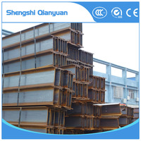 Carbon Structural hot rolled h steel beam ss400, h iron beam h steel