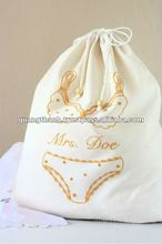embroidery lingerie bag