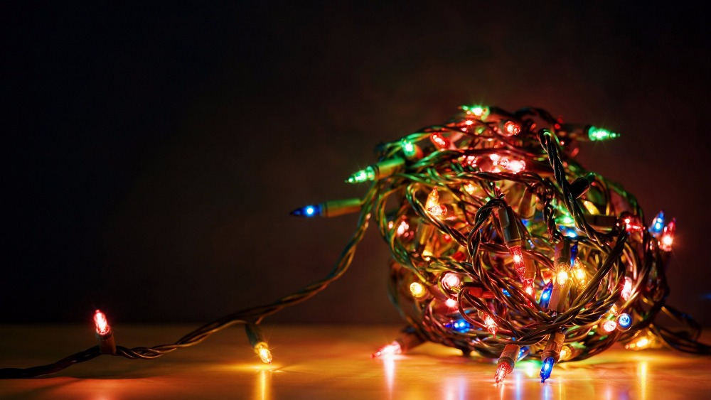 LED Battery Powered String Fairy Lights Tree Decorating Christmas Lighting