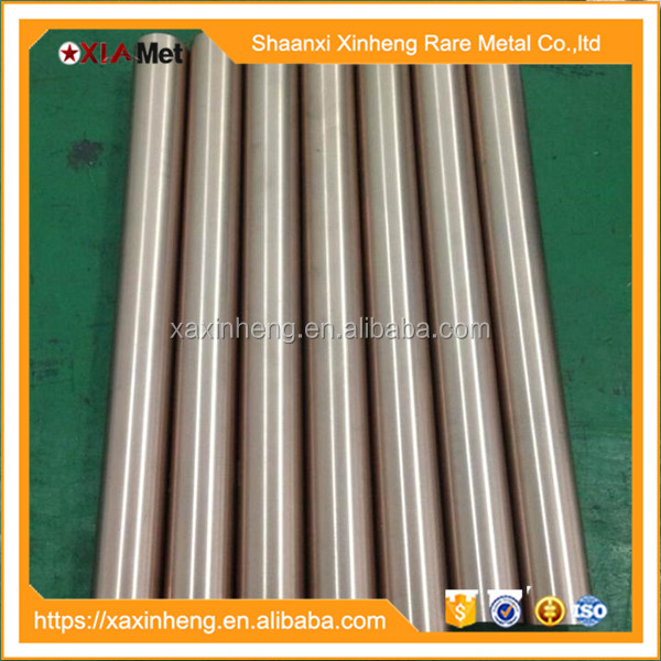 High purity round W disc Tungsten copper alloy (ISO 9001:2008)
