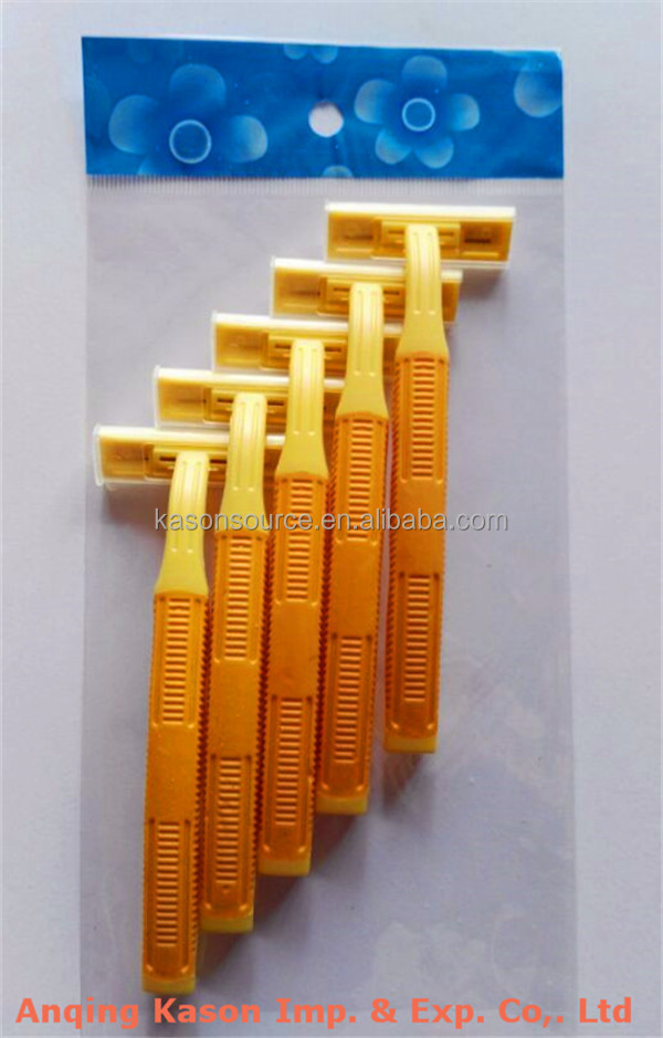Low cost razor with shaving paste Supplier