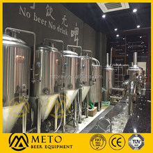 hotel craft copper beer brewing equipment,commercial beer brewery system