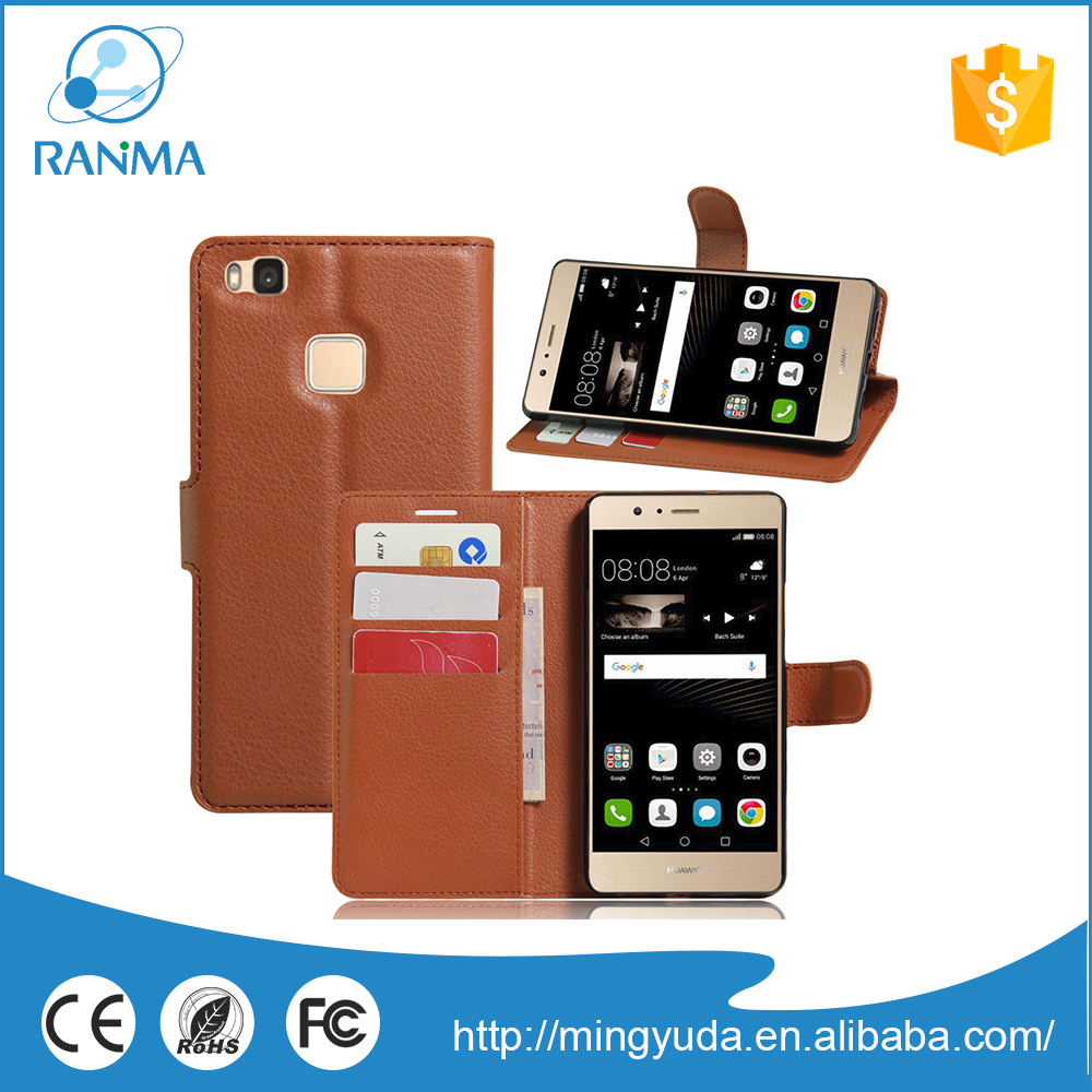 High Quality protective phone leather flip case for huawei