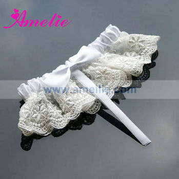 Solf Lace Wedding Garter for Sale