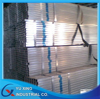 Steel structure/q235 pre galvanized square pipe hollow sections