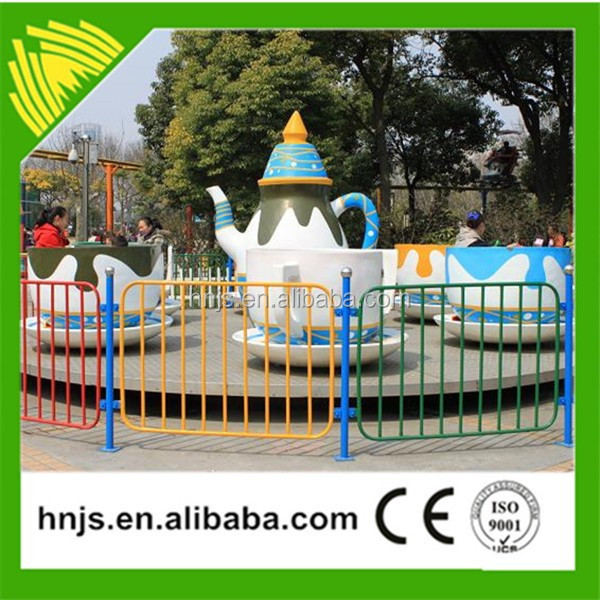 Colorful amusement equipment coffee cup/tea cup machine rides for sale at factory price