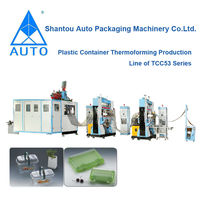Plastic Disposable Food Packaging Products thermoforming Machine