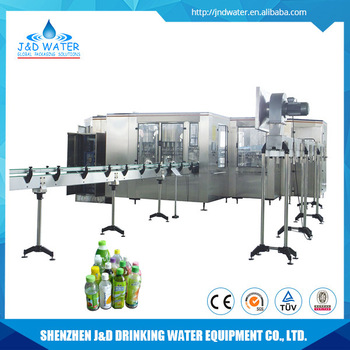 Professional PET bottle beverages hot filling capping machine