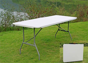 6foot outdoor rectangle table - 6 Foot Folding Table