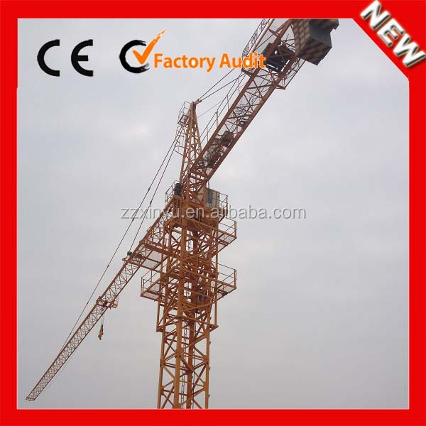 XINYU big tower crane 25 ton QTZ500/tower crane spare parts