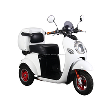 3 wheel mini motorcycle citycoco tricycle solar powered scooter for handicapped