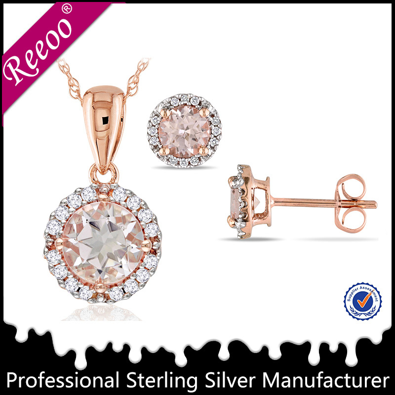 Top cubic zircon stone 925 sterling silver artificial jewellery pakistan
