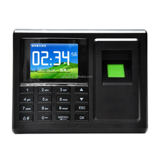 A8 Biometric Office Time Attendance Clock with TFT Color Screen and Fingerprint Reader