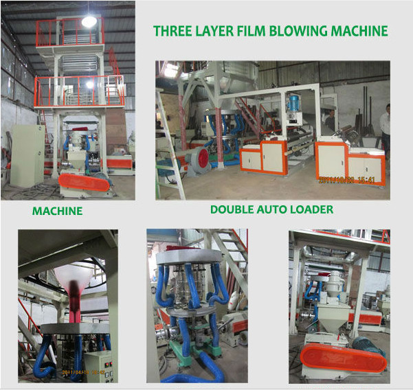 MD-HH High speed hdpe film blowing machine,pe blowing film machine,plastic film blowing machine