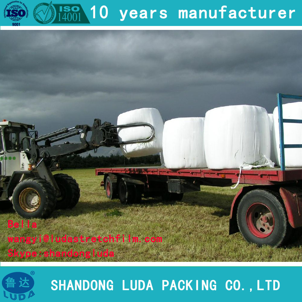 black plastic stretch film agriculture silage wrap green Stretch Wrap Film Professional Manufacturer