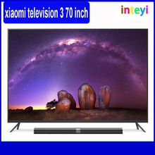 "Original Xiaomi Mi TV 3 70"" Inches Smart TV English Interface Imported Screen Real 4K 3840*2160 Ultra HD Quad Core TV Wholesale"