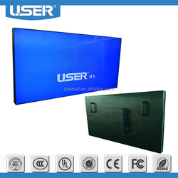 49inch LG DID ultra narrow bezel 3.5mm lcd displayer led backlight video player