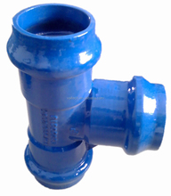 ductile iron materials pipe fittings for pvc pipe