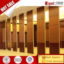 China aluminium soundproof moving foldable slidable partition wall for art gallery exhibition