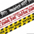 LDPE Halloween Party decorative caution tapes/fright tapes