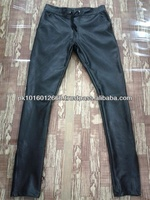 Men Leather Sweat Pant/Touser